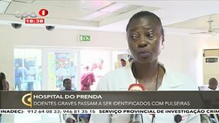 Hospital do Prenda - Doentes graves passam a ser identificados com pulseiras