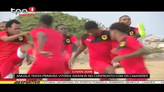 Angola tenta primeira victória amanhã diante dos Camarões