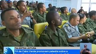 Forças Armadas de Cabo Verde promovem palestra sobre a