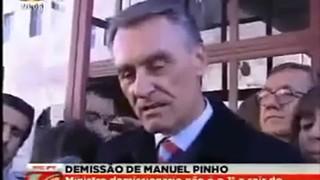 Aníbal Cavaco Silva e a ?careta? em direto
