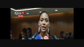 Miss Angola 2017 - Laurena Martins busca apoios para ajudar mulher rural
