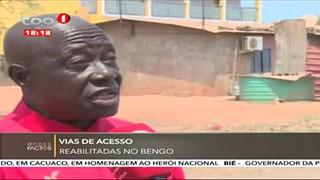 Vias de acesso no Bengo reabilitadas