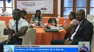 Terminou, na Praia, o seminário de 4 dias de capacitação para o controlo do taba