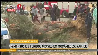 Acidente de viac?a?o - 4 mortos e 6 feridos graves em Moc?a?medes, Namibe