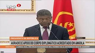 João Lourenço agradece apoio de Diplomatas acreditados em Angola