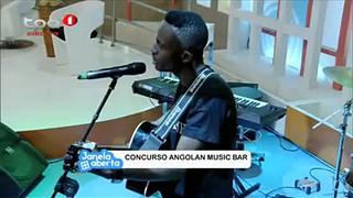 Aidine Diogo Participante do Concurso Angolan Music Bar.
