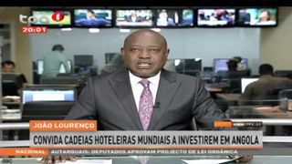 João Lourenço convida cadeias hoteleiras mundiais a investirem em Angola