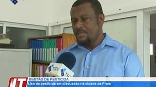 Uso de pesticidas na agricultura em discussão na cidade da Praia
