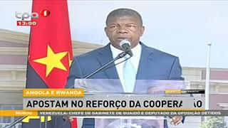 Angola e Rwanda, Presidente da repu?blica garante trabalho para ligac?a?o ae?rea