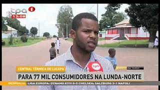 Central Te?rmica de Lucapa para 77 mil consumidores na Lunda-Norte