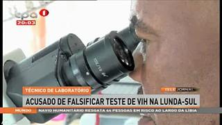 Te?cnico de laborato?rio acusado de falsificar teste de VIH na Lunda-Sul