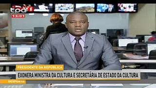PR Exonera Ministra da Cultura e Secreta?ria de Estado da Cultura