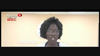 Centro de hemodia?lise sem pacientes no Moxico