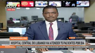 Hemodia?lise - Hospital central do Lubango vai ter 75 pacientes por dia