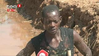 Cuanza-Norte Autoridades preocupadas com aumentos de buracos abertos em zonas re