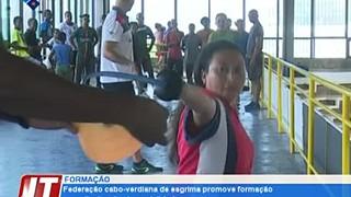Federação caboverdiana de esgrima promove formação para divulgação da modalidade