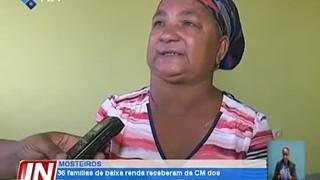 36 famílias de baixa renda receberam da Câmara Municipal dos Mosteiros casas con