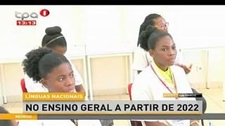 Li?nguas nacionais - no ensino geral a apartir de 2022