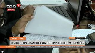 """Caso """"CNC"""" - Ex-Directora financeira admite ter recebido gratificac?o?es"""