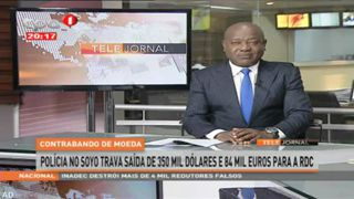 Poli?cia no Soyo trava sai?da de 350 mil do?lares e 84 mil euros para a RDC