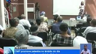 CMP promove palestra no ãmbito do dia de conscientização mundial do Alzheimer