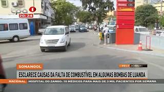 Sonangol esclarece causas da falta de combusti?vel em algumas bombas de Luanda