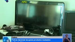 Policia Nacional recupera produtos roubados na ilha do Sal