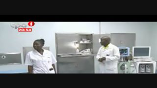 Inaugurados Hospitais Geral e Materno-Infantil do Dundo
