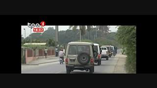 Criminalidade em Benguela - Apresentados supostos marginais implicados na morte