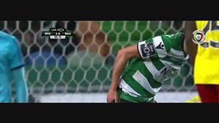 Sporting CP, Caso, Fábio Coentrão, 89m
