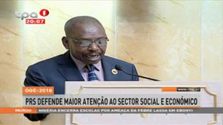 PRS defende maior atenc?a?o ao sector social e econo?mico