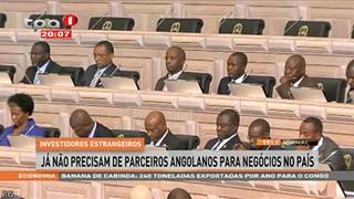 Investidores Privados ja? na?o precisam de parceiros Angolanos