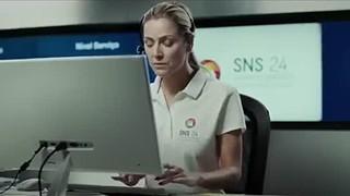 Febre de Seleção Dolores Aveiro participa na nova campanha do SNS 24