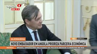 Alemanha novo embaixador em Angola prioriza parceria Econo?mica
