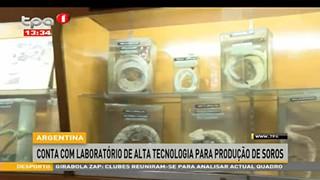 Argentina conta com Laborato?rio de alta Tecnologia para produc?a?o de Soros