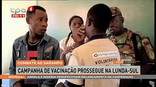 Combate ao Sarampo - Campanha de vacinac?a?o prossegue na Lunda-Sul