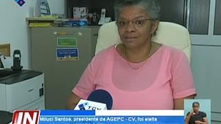Miluci Santos, presidente da AGEPC - CV, foi eleita presidente da UNIAPAC África