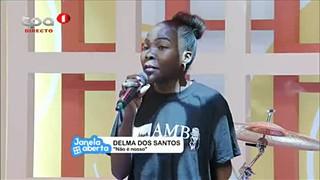 Delma dos Santos participante do Concurso Angolan Music Bar