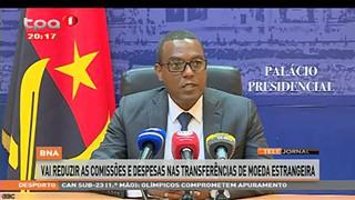BNA vai reduzir as comissões e despeas nas transferências de moeda estrangeira