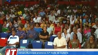 Câmara Municipal promove XVª Noite de Guitarra