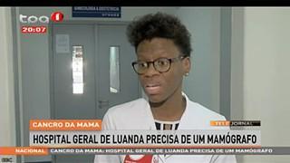 """Cancro da Mama """"Hospital Geral de Luanda precisa de um mamógrafo"""""""