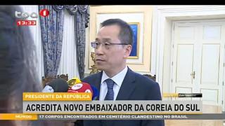 Presidente da Repu?blica - Acredita  novo embaixador da coreia do sul