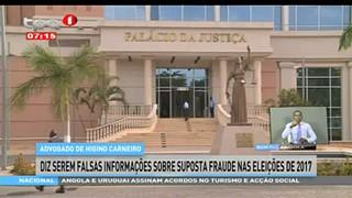 Advogado de Higino Carneiro diz serem falsas informac?o?es sobre suposta fraude