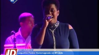 Jacqueline Fortes homenageada no Mindelo