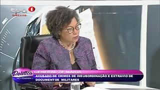 General Ze? Maria acusado de crimes de insubordinac?a?o e extravio de documentos