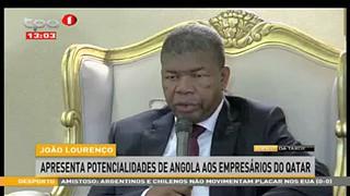 Joa?o Lourenc?o apresenta potencialidades de Angola aos empresa?rios do Qatar