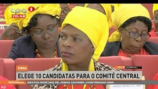 OMA elege 10 candidatas para o comite? central