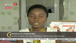 Mu?sica e Literatura - Marcaram dia da crianc?a Africana