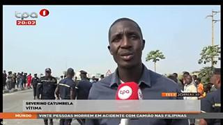 """4 Mortos e 12 feridos na EN 100 """"Lobito - Benguela"""""""