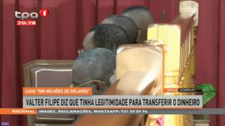Walter Filipe diz que tinha legitimidade para transferir o dinheiro